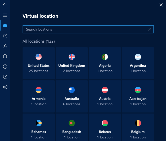 hotspot shield virtual connections