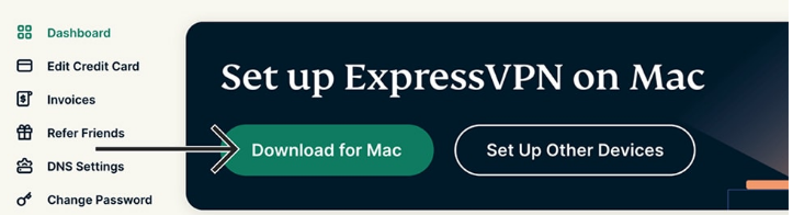 ExpressVPN for Mac