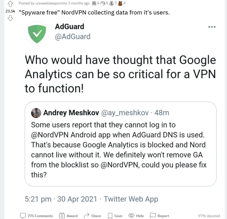 BullGuard VPN vs NordVPN