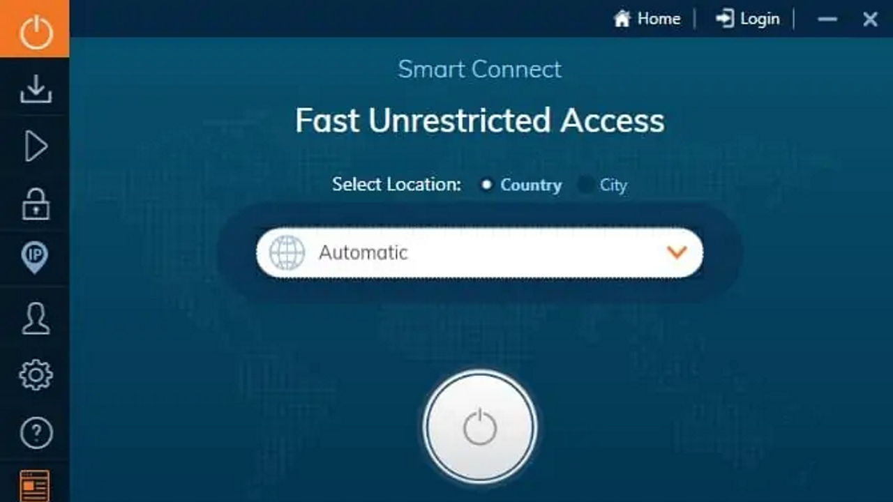 Ivacy user interface